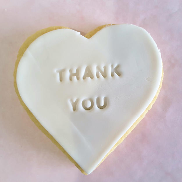 Cookie - Thank You White