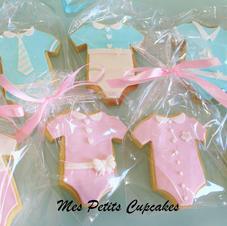 Cookie - Girl Boy Baby Shower Baby Revea