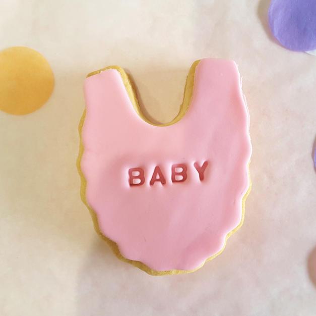 Cookie - Bib Girl Pink