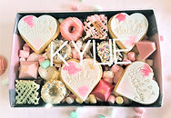 Dessert Box Cookies Custom
