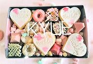 Dessert Box Cookies Custom