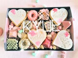 Dessert Box Happy Birthday Melbourne Del