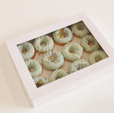 Mini Donuts Blue Birthday or Baby Shower