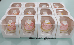 Cupcake - Wedding Pink  Favours Bonbonniere in Box