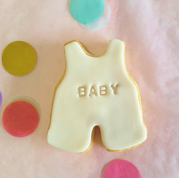 Cookie - Baby Romper White