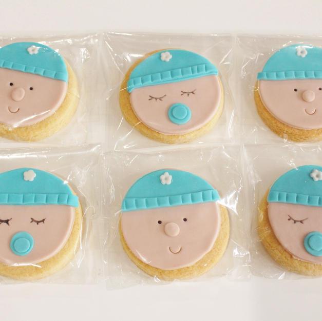 Cookies Baby Beanie Boy Blue