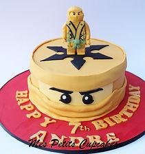 Birthday Cake - Gold Ninjago Lego.jpg