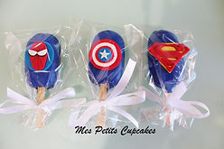Cakesicle - Superhero Spiderman Ironman