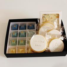 Gift Box Baby Blue