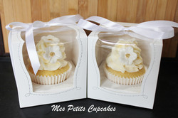 Cupcake - Wedding Favours Bonbonniere in Box and Ribbon