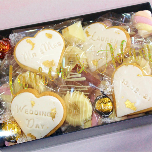 Dessert Cookie Gift Box Personalised - W