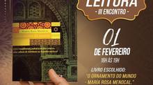Clube de Leitura do Instituto de Cultura Árabe (Icab) em Brasília 3º Encontro