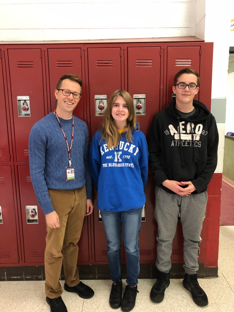 Brian Mclaughlin, Jasmine Moyers, and Blake Labounty