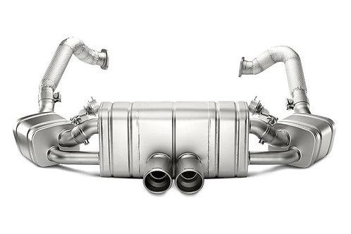 Akrapovic - Titanium Exhaust System Porsche Cayman 981 GT4 15-16