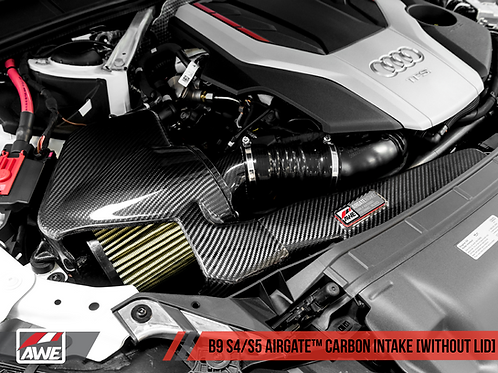 AWE Tuning - Airgate™ Carbon Intake For Audi B9 S4 / S5 3.0T