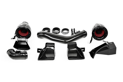 Eventuri - Black Carbon w/ Metal Ducts Intake System BMW F8x M3/M4 15-18