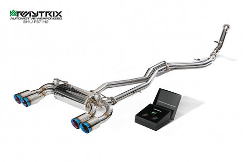 ARMYTRIX - Stainless Steel Valvetronic Catback Exhaust System - BMW M2 F87
