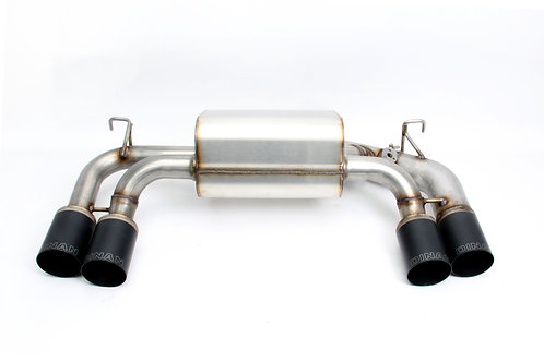 Dinan - Free Flow Stainless Exhaust with Black Tips for BMW F87 M2