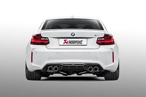 Akrapovic - Carbon Fiber Rear Diffuser - BMW F87 M2