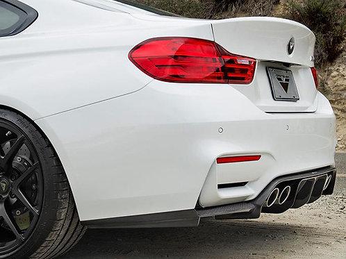 Vorsteiner - VRS GTS Diffuser Carbon Fiber 2x2 Gloss BMW F82 M4/F80 M3 15-18