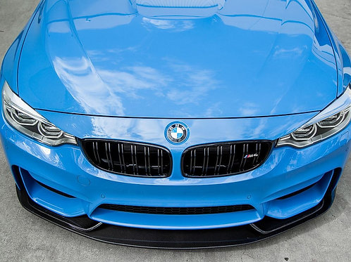 Agency Power - Aeroform Carbon Fiber 3 Piece Front Lip BMW F80/F82 M3/M4 15-19