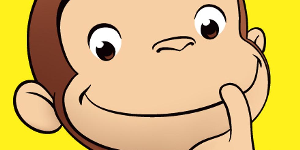 おさるのジョージを読もう(3-6歳向け)【Leland】