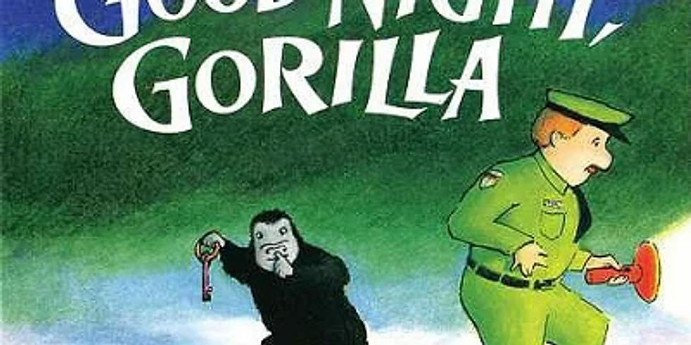 ☆英語絵本読み聞かせ講座 「GOOD NIGHT GORILLA」(大人向け)【Ai】