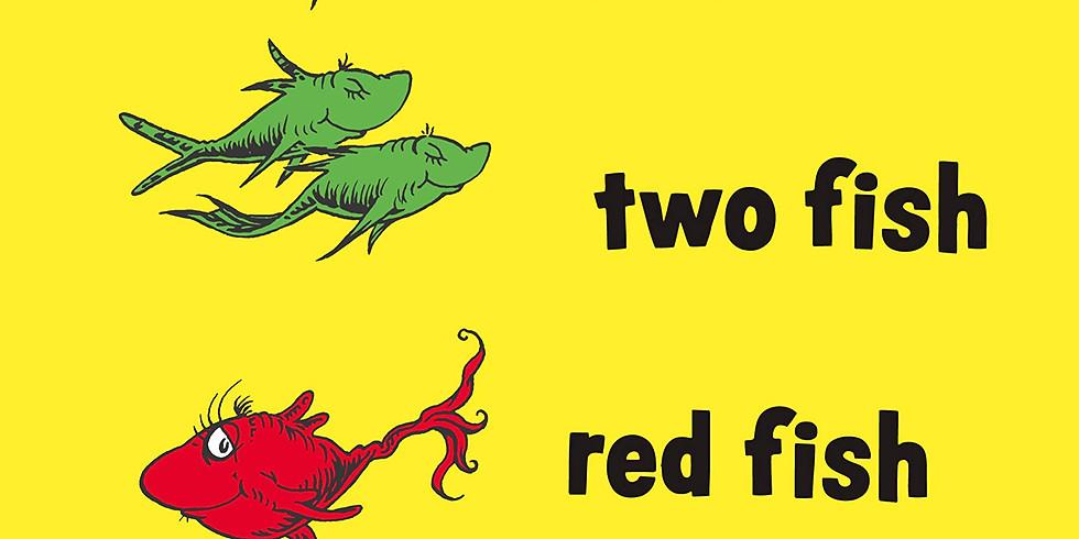 ☆英語絵本読み聞かせ講座「One fish two fish red fish blue fish」(大人向け)【Kazuho】