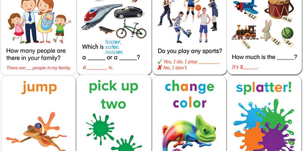 AGO(GREEN)カードでQAゲーム (7-9歳向け)【Ai】