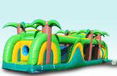 Tropical obstacle course 40ft