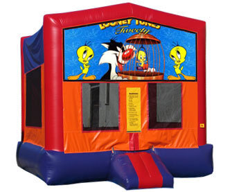 Orange bounce House