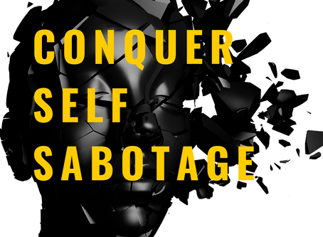 end self sabotage