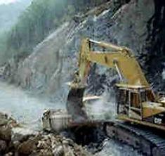 road building heavy civil construction excavation excavator blasting hauling CAT Labrador Newfoundland