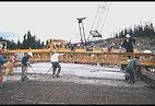 Bridge Highway Screed Crew Deck Pour Newfoundland Labrador