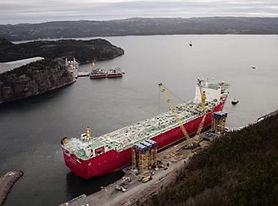 offshore oil gas FPSO ship production new refit repair marine fabrication process piping, Terra Nova