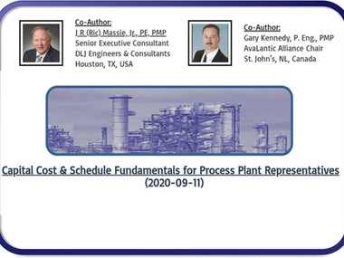 Capital Cost & Schedule Fundamentals for Process Plant Representatives (2020-09-11)