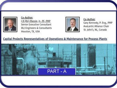 Capital Projects Representatives of Operations & Maintenance for Process Plants, Part A (2020-07-29)