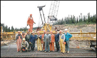 Gary Kennedy, Project Manager, Engineer, Construction, Training, Bridge, Trans Labrador Highway, Rebar, Screed Crew, Concrete, Cement