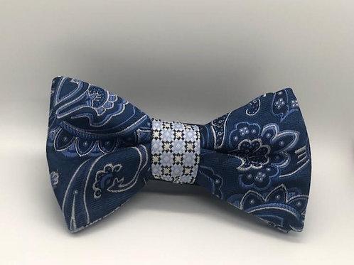 Bow Tie - Blue Floral