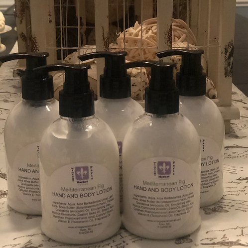 Natural Moisturizing Hand & Body Lotion with Shea Butter