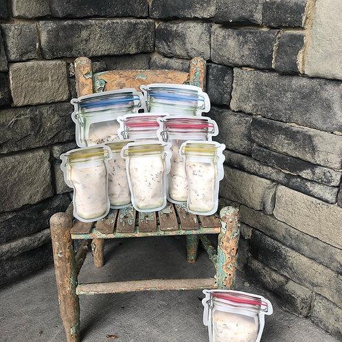 Lavender bath salts with Epsom salt