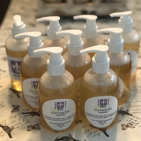 Natural Liquid Castile Soap lavender