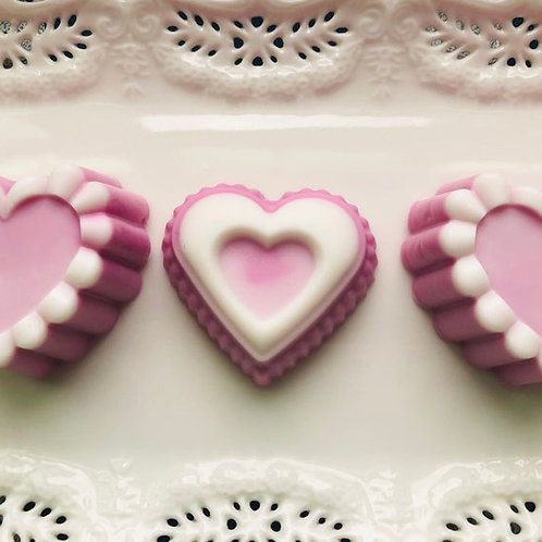 Valentine Heart Shaped Guest Soap