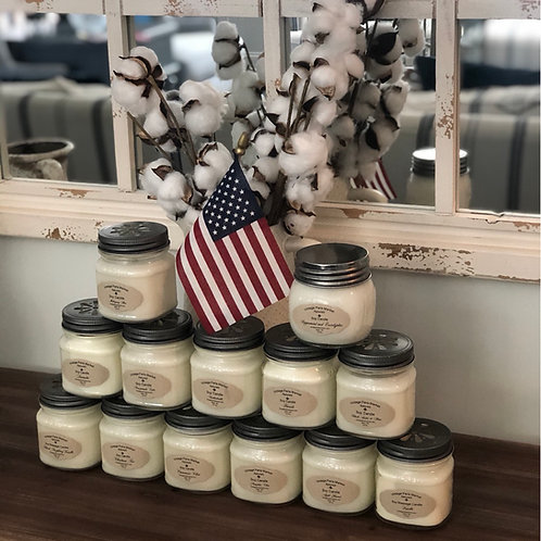 Soy candles, hand poured, Phthalate free natural Soy Candle