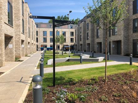 Mill Road, Cambridge - Courtyard 1