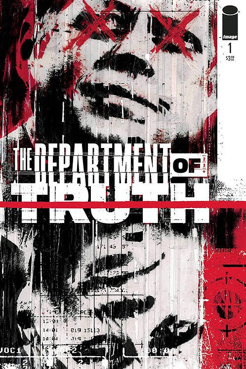 DEPARTMENT OF TRUTH #1 CGC GRADED (C: 0-1-2) DYNAMIC FORCES SERIES PREMIERE! Col