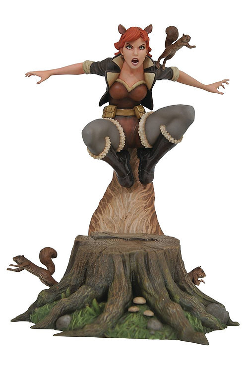 MARVEL GALLERY SQUIRREL GIRL COMIC PVC FIGURE (C: 1-1-2) DIAMOND SELECT TOYS LLC