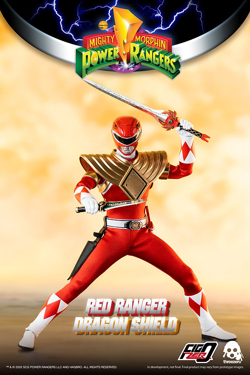 ONLY 1000 MADE! POWER RANGERS DRAGON SHIELD RED RANGER COMES OUT IN JULY!