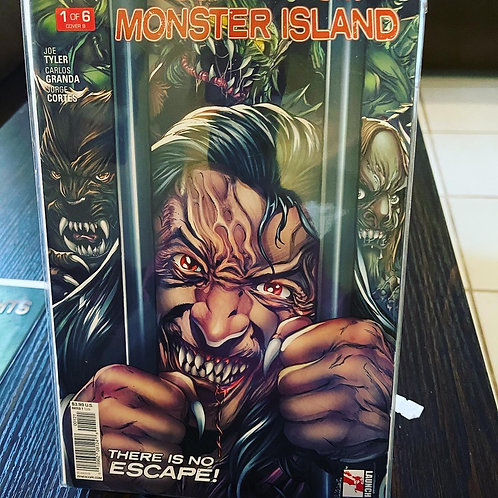 Monster Island 1. Pressed by Jen, autographed by Marat, graded by CGC