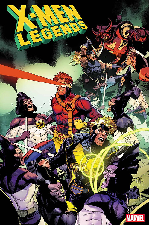 X-MEN LEGENDS #1 YU VAR 1:50 I only have 1!